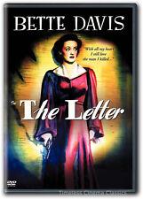 The Letter DVD New Bette Davis Herbert Marshall Gale Sondergaard 1940