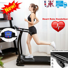 Treadmill Incline Electric Motorise Folding Running Machine Fitness Exercise UK