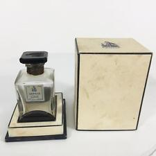 Lanvin Parfums Arpege Vtg Perfume Glass Bottle Paris France Orig Box 28 Grams