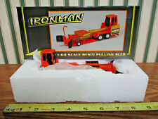 Orange Bauer Built Ironman Pulling Sled By SpecCast 1/64th Scale >