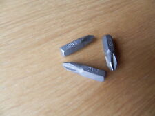 10 Stück Bits PH2 x25 Kreuzschlitzbits für Schnellbauschrauben