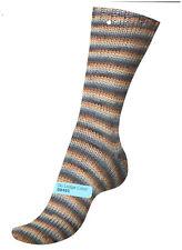 150 G Regia Sockenwolle 6 -fädig Stripe Color Fb. 8489