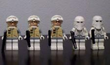 2017 LEGO Star Wars Set Lot of 5 Minifigures - 3 Rebel Soldier & 2 Snow Troopers