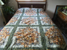 Hunting theme quilt - Queen
