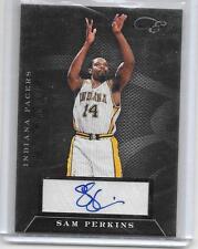 2011-12 Panini Black Box - SAM PERKINS - Status Autograph - PACERS #d 89/99