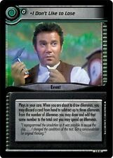 Star Trek CCG 2E Call To Arms I Don't Like To Lose 3R44