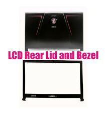 LCD Back cover and Bezel for MSI GE73 7RC Raider/GE73 7RD Raider(MS-17C3)
