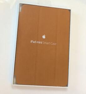 GenuIne APPLE ipad 1st Generation 7.9 Mini 1 Smart Case LEATHER Saddle Brown NEW