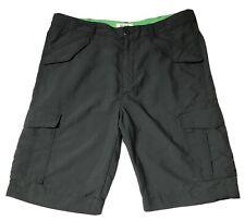 Old Navy 6 Pockets Cargo Active Wear Gray Nylon Shorts Men's Size 36