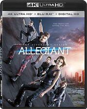 DIVERGENT : ALLEGIANT  (4K ULTRA HD) - Blu Ray -  Region free