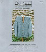 Caswell Cardigan Oat Couture GU425 Sweater Knitting Pattern Women's 38-62