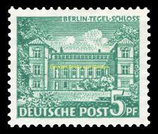 EBS West Berlin 1949 Berlin Buildings (I) - Tegel Castle Michel 44 MNH**