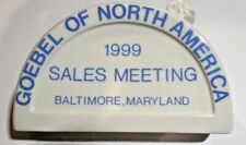 Goebel Plaque - Goebel of North America 1999 Sales Meeting Baltimore Hummel new