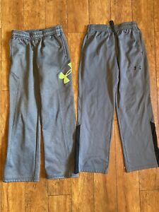 Boys Lot of 2 Under Armour Pants Size YMD