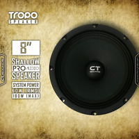 "CT Sounds Tropo Pro Audio 8 Inch S4 Car Door 8"" Shallow Mount Speaker(1 speaker)"