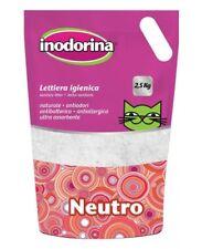 INODORINA LETTIERA SILICIO PROFUMO NEUTRO CAT NEUTRAL 4x2.5KG PET VILLAGE