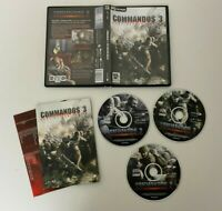 PC CD ROM Commandos 3 - Destination Berlin - Complete - VGC - Free P&P
