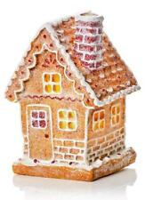 LED Gingerbread House Battery-Operated 13x9cm Christmas Light (B)