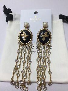 Kate Spade New York  grandmas closet statement  earrings w/ KS Dust Bag