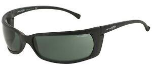 Arnette SLIDE AN 4007 Matte Black/Grey Green 66/17/115 men Sunglasses