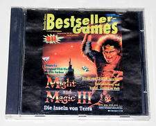 MIGHT AND MAGIC III - DIE INSELN VON TERRA - PC CD ROM