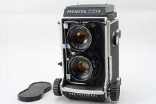 【Super Rare!! NEAR MINT】Mamiya C220  W/Sekor 80mm f/3.7 from Japan 555