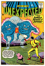 TALES OF THE UNEXPECTED #57 6.5 OFF-WHITE TO WHITE PAGES SILVER AGE