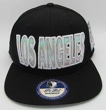LA City LOS ANGELES CA Snapback Cap Hat Cali Kings Lakers Dodgers Raiders NWT