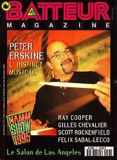 Batteur Magazine N°77 - Peter Erskine - Mars 1995