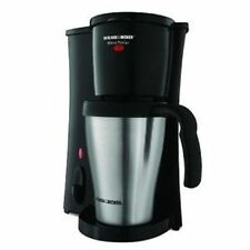 BLACK AND DECKER BREW 'N GO COFFEE MAKER 1 CUP TRAVEL MUG