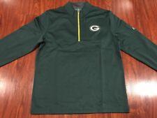 Majestic Men's Green Bay Packers Across The Scoreboard Zip Jersey Jacket Large L