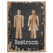 PP0443 RESTROOM Sign Store Shop Cafe  Restaurant Restroom Decor