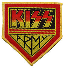 KISS - Patch Aufnäher army logo cut 9x9cm