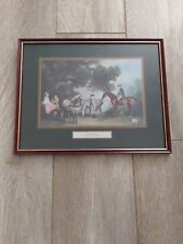 Vintage Print Framed Family Outing by George Stubbs Free P$P