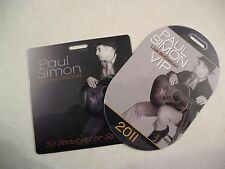 Paul Simon So Beautiful So What 2011 Vip Passes Lot of 2 Laminated Concert