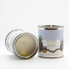 Hand-Poured Scented Candle Tin British made in the Scottish Borders 7 fragrances