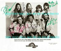 THE DOOBIE BROTHERS BAND SIGNED AUTOGRAPH 8X10 RPT PROMOTIONAL PHOTO