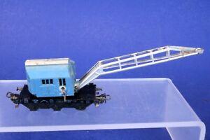 Marklin HO Scale Old Metal Boom Crane Car