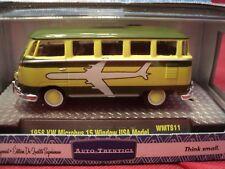 M2 Machines 1958 Volkswagen micro bus 15 window USA Model1/64 scale NIB 1/7800