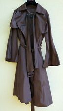 IMPERMÉABLE TRENCH BURBERRY MARRON T 40 SOIE