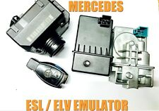 MERCEDES W212 ESL REPAIR EMULATOR PROGRAMMING SERVICE ELV EMULATOR PROGRAMMING