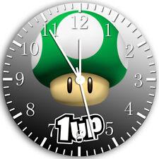 Super Mario Mushroom Frameless Borderless Wall Clock Nice For Gifts or Decor Z43
