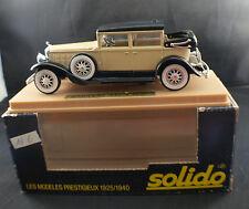 Solido ◊ Cadillac 452 A 1931    ◊ 1/43 ◊  en boite / boxed