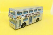 Matchbox Superkings Daimler Bus with Silver Jubilee decals