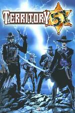 Territory 51 Sci-fi Western Law Dog Comics TPB 1st print 2005 OOP