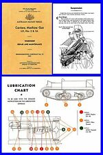 Carrier Machine Gun ( Bren Gun ) Aust Workshop Repair & Maintenance Manual DVD