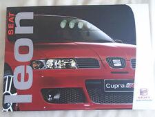 Seat Leon range brochure Jun 2003