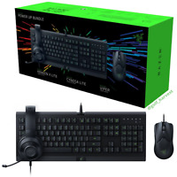 Razer Power Up Wired PC Gaming Mouse Keyboard Headset Bundle Set - NEW/SEALED