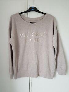 Beige Victoria's Secret oversized jumper size M