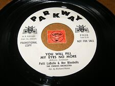 PATTI LABELLE - YOU WILL FILL MY EYES NO MORE - ONE PHONE  / LISTEN / GIRL GROUP